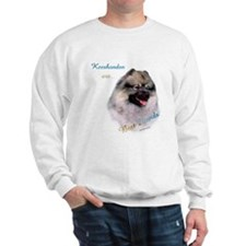 Keeshond Best Friend 1 Sweatshirt