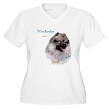 Keeshond Best Friend 1 T-Shirt