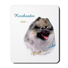 Keeshond Best Friend 1 Mousepad