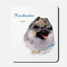 Keeshond Best Friend 1 Mousepad