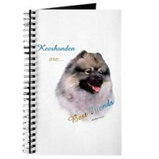 Keeshond Best Friend 1 Journal