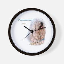 Komondor Best Friend 1 Wall Clock