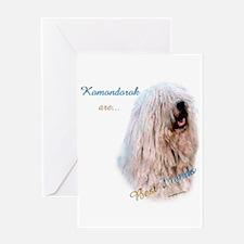 Komondor Best Friend 1 Greeting Card