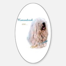 Komondor Best Friend 1 Oval Decal