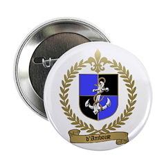 "d'AMBOISE Family Crest 2.25"" Button (100 pack)"