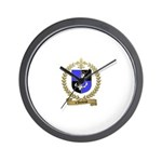d'AMBOISE Family Crest Wall Clock