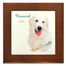 Kuvasz Best Friend 1 Framed Tile