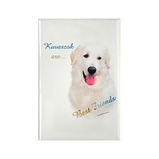 Kuvasz Best Friend 1 Rectangle Magnet (10 pack)