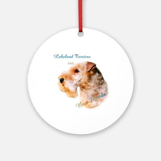Lakeland Best Friend 1 Ornament (Round)