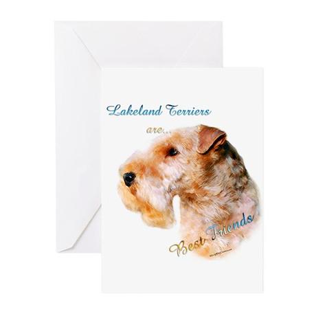 Lakeland Best Friend 1 Greeting Cards (Pk of 20)