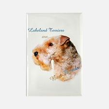 Lakeland Best Friend 1 Rectangle Magnet (10 pack)