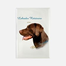 Choclate Lab Best Friend 1 Rectangle Magnet