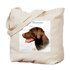 Choclate Lab Best Friend 1 Tote Bag
