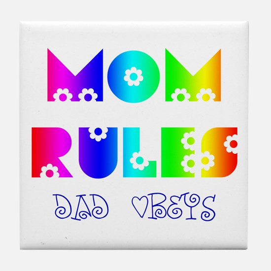 Unique Mom mommy mother mother%27s day Tile Coaster
