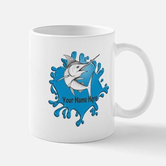 Marlin Art Mugs
