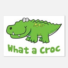 What a Croc Postcards (Package of 8)