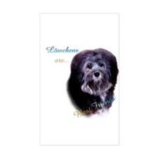 Lowchen Best Friend 1 Rectangle Stickers