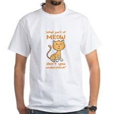 Part of Meow Shirt