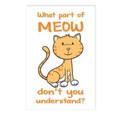 Part of Meow Postcards (Package of 8)