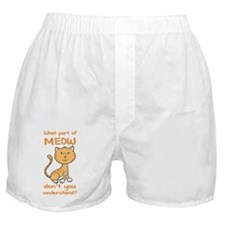 Part of Meow Boxer Shorts