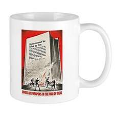 BOOKS ARE WEAPONS Mug