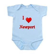 I Love Newport #21 Infant Bodysuit