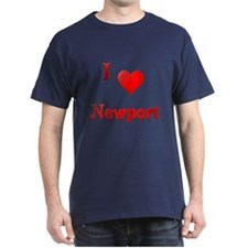 I Love Newport #21 T-Shirt