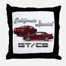 Dark Candy Apple Red Products Throw Pillow