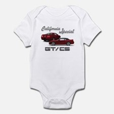 Dark Candy Apple Red Products Infant Bodysuit