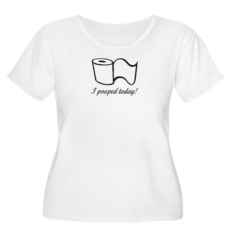 AGING Women's Plus Size Scoop Neck T-Shirt