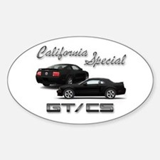Black Products Oval Decal