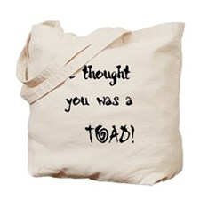 We Thought Tote Bag