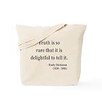 Emily Dickinson 19 Tote Bag