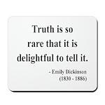 Emily Dickinson 19 Mousepad