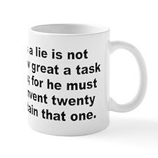 Cute Pope quotation Mug