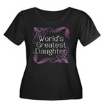 World's Greatest Daughter Women's Plus Size Scoop