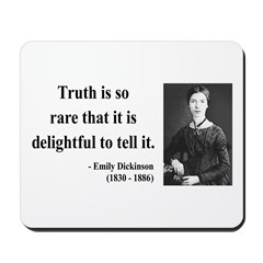 Emily Dickinson 19 Mousepad
