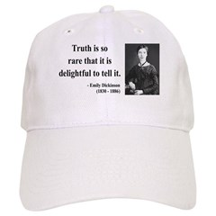 Emily Dickinson 19 Baseball Cap
