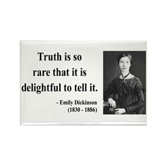 Emily Dickinson 19 Rectangle Magnet (100 pack)