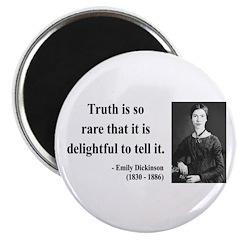 """Emily Dickinson 19 2.25"""" Magnet (100 pack)"""