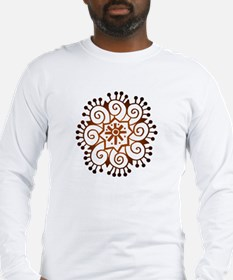 Henna Tattoo Long Sleeve T-Shirt