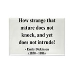 Emily Dickinson 18 Rectangle Magnet