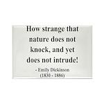 Emily Dickinson 18 Rectangle Magnet (100 pack)
