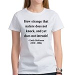 Emily Dickinson 18 Women's T-Shirt