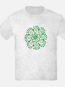 Henna Tattoo in Green - T-Shirt
