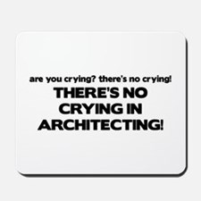 There's No Crying in Architecting Mousepad