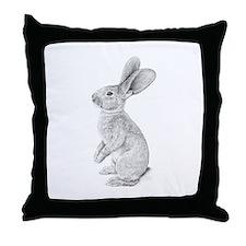 Giant Rabbit Throw Pillow