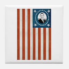 Obama Flag Tile Coaster