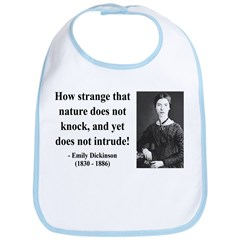 Emily Dickinson 18 Bib