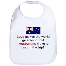 Love Australians Bib